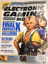 Electronic Gaming Monthly Magazine Final Fantasy X February 2002 062017nonr