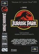 """VHS FILM Ita Avventura ( 1993 ) """"JURASSIC PARK """"  STEVEN  SPIELBERG"""