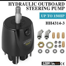 Helm Hydraulic Outboard Steering Pump HH4314-3 HH4314 Helm Kit Controls