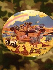 The Rainbow Of Promise By Linda Unerdermehr Collector Plate