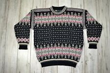 DALE OF NORWAY Pure New Wool Nordic Jumper Size XL