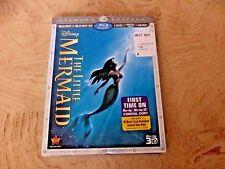 The Little Mermaid (Blu-ray/DVD, 2013, 3-Disc Set, Diamond Edition Includes Digi