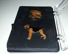 PINS BADGE COLLECTION CHIEN - AIREDALE TERRIER - JYS
