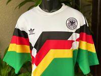 ADIDAS ORIGINALS GERMANY MASHUP 1990 WORLD CUP JERSEY SHIRT (X-LARGE) [CD6957]