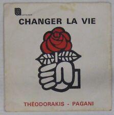 Parti Socialiste Français 45 tours Théodorakis Pagani