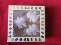 2005 (9) Nina Ricci L'Air du Temps Dove Shaped Mini Decorative Soaps NOS