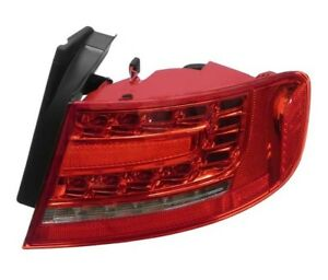 For Audi A4 Quattro S4 Sedan Passenger Right Outer LED Taillight Hella 010085121