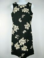Eddie Bauer Size M Black Cotton Sleeveless Dress