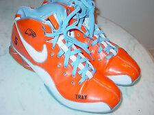 "2009 Nike Shox Elite ""NIKE ID"" Tray #5 Orange Baltimore Ravens Shoes! Size 13"