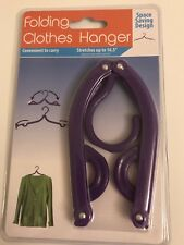 Portable Folding Clothes Hanger Clothes for Travel