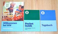 Weight Watchers Willkommen WW+Pocket Guide+Tagebuch FitPoints SmartPoints 2019