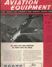 Aviation Equipment Magazine July 1942 Parts Tools Accessories Maintenance