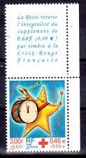 FRANCE TIMBRE CROIX ROUGE AVEC VIGNETTE 3288 ** MNH D ETOILE TAMBOUR - 1999