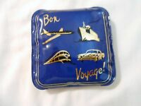 VINTAGE TRAVEL WALLET BON VOYAGE TRAVEL SET MIRROR SEE PICS ADORABLE