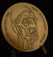 Medal Jean Daily Priest Duty and Artist French 1985 Medal 铜牌