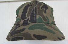 Mesh Snapback Adjustable Camouflage Trucker Hat Cap One Size