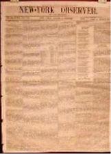 Newspaper Texas Mier Prisoners Brenham Killed!!! Texians Santa Fe  1843