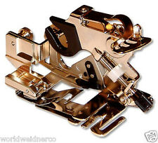 genuine BROTHER SA143 Ruffler Sewing Machine Presser Foot for Pleats & Ruffles