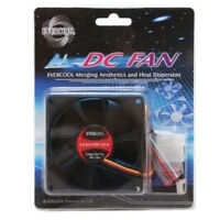 Evercool EC8025M12CA 80mm x 25mm 12v Ball Medium Speed Cooling Fan 3 pin/4 pin