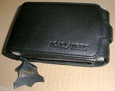 Road Angel Navigator 9000 Leather Carry Case Genuine #ACE [slight sunning]