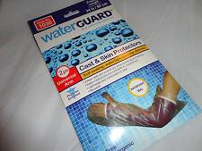 Water Guard Arm Wrist Cast Skin Protector 1, 2pk Bathing Reusable Latex free Lot