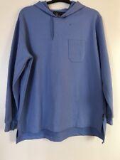 JC Penney USA Olimpic Men's Ceil Blue Hooded Hoodie Sweatshirt Top Sz~ XL / XG