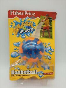 RARE Vintage Fisher Price SPLASH SPORTS Basketball 1998. Brand new, sealed.