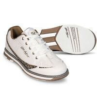 KR Strikeforce Women's Curve White Leopard Bowling Shoes Size 9.5