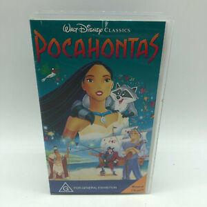 Rare - Walt Disney Classics - Pocohontas - VHS PAL Video - Free Postage