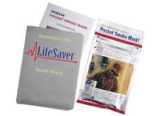 Personal lifesaver smoke hood - Innovative fire safety hood