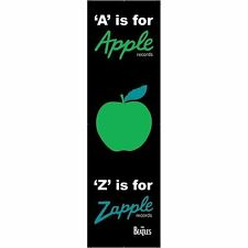 The Beatles Card Bookmark A Is For Apple Z Is For Zapple Gift Idea 100% Official