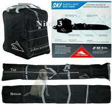 High Sierra Ski and Boot Bag Combo Set - Water Resistant