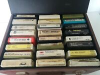 Vintage 8 Track Tapes X 24