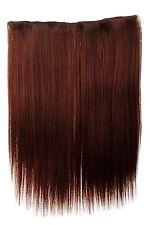 Postiche large Extensions cheveux 5 Clips lisse Braun cuivré 45cm L30173-35