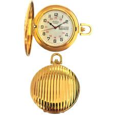Reloj de bolsillo BULOVA ref. 92D74 Hombre dorado con tapa
