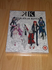 K: Return of Kings Blu-ray Collector's Edition Brand New and Sealed