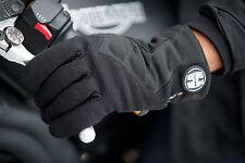 Guanti Guanto Pelle Moto Racing OJ Duel con Protezioni in Carbonio Bianco XXL