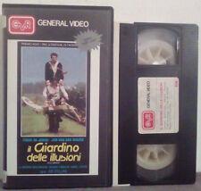 VHS FILM Ita Commedia IL GIARDINO DELLE ILLUSIONI general video no dvd(VHS26)