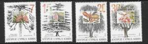 CYPRUS SG855/8 1994 TREES MNH