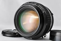 """Top Mint"" NIKON Ai-s 50mm f1.2 AIS MF Camera Lens + Caps From Japan #026"