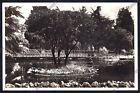 VARESE BUSTO ARSIZIO 50 GIARDINO PUBBLICO Cartolina FOTOGRAFICA viaggiata 1943
