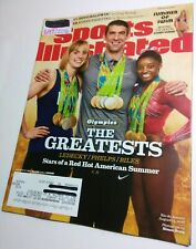 Sports Illustrated 8/22/2016 Michael Phelps Olympic swimmer Near Mint mag. issue