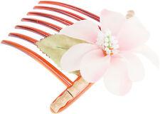 Tiki GLYNIS Bamboo BAMBUS Flower Hawaii HAARKAMM Hair Comb Rockabilly