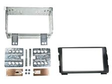 2-DIN RADIO FACEPLATE Kia Cee'd Facelift, Black
