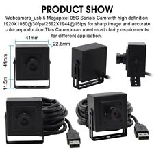 5.0MP 2592x1944 Aptina MI5100 mini usb camera with 100 degree no distortion lens