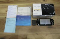 Sony PSP 3000 Console Piano Black w/box Japan K527