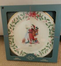 Lenox 1994 Annual Holiday Santa Collector Plate w/box