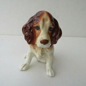 Vintage SylvaC Cocker Spaniel Sitting Dog Figurine