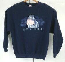 Vintage 90s Walt Disney Store Navy Blue Crewneck Sweatshirt. Size Xl/Xg/Tg