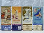 4 Vintage NATURE'S REMEDY Calendars 1934, 1936, 1938, 1943   All are Unused